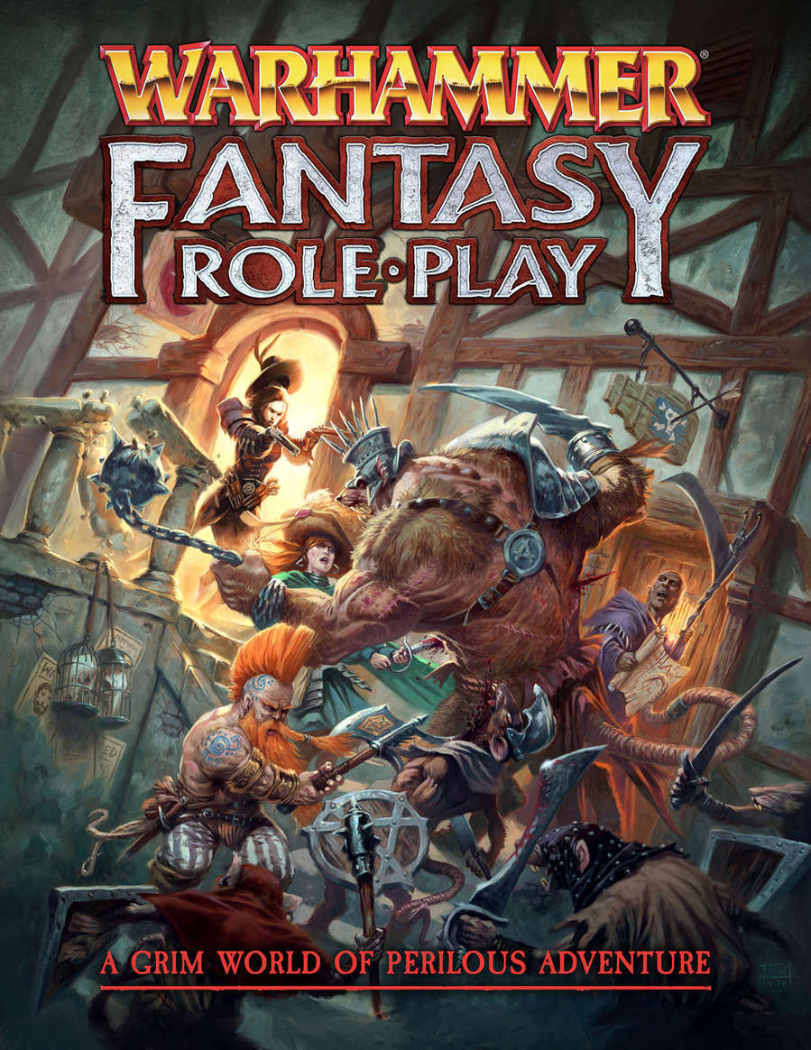 Warhammer Fantasy Roleplay Fourth Edition Rulebook - Cubicle