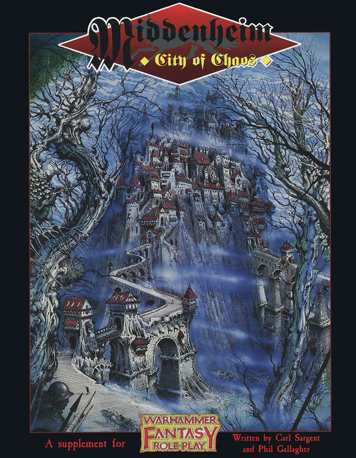 Warhammer Fantasy Roleplay First Edition Middenheim City Of Chaos