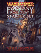 Warhammer Fantasy Roleplay Fourth Edition Starter Set