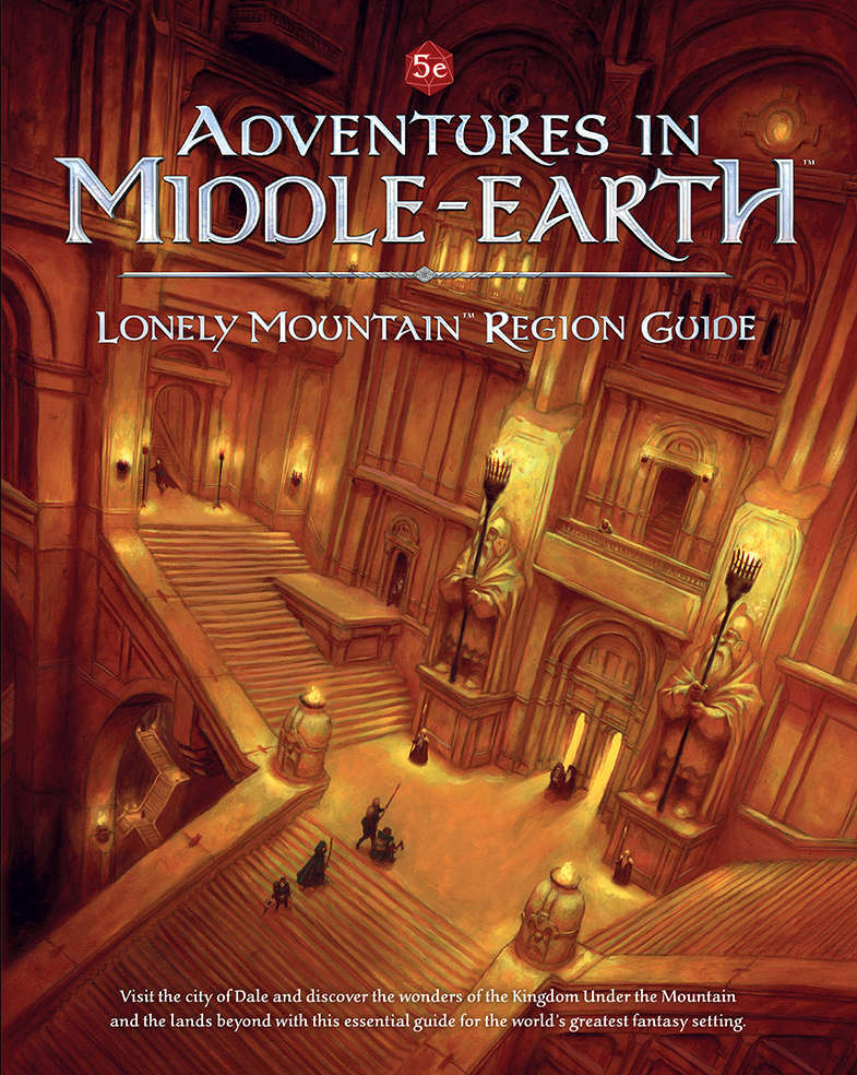 adventures in middle earth lonely mountain region guide pdf