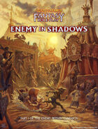 Warhammer Fantasy Roleplay Fourth Edition Enemy Within Campaign - Volume 1: Enemy in Shadows