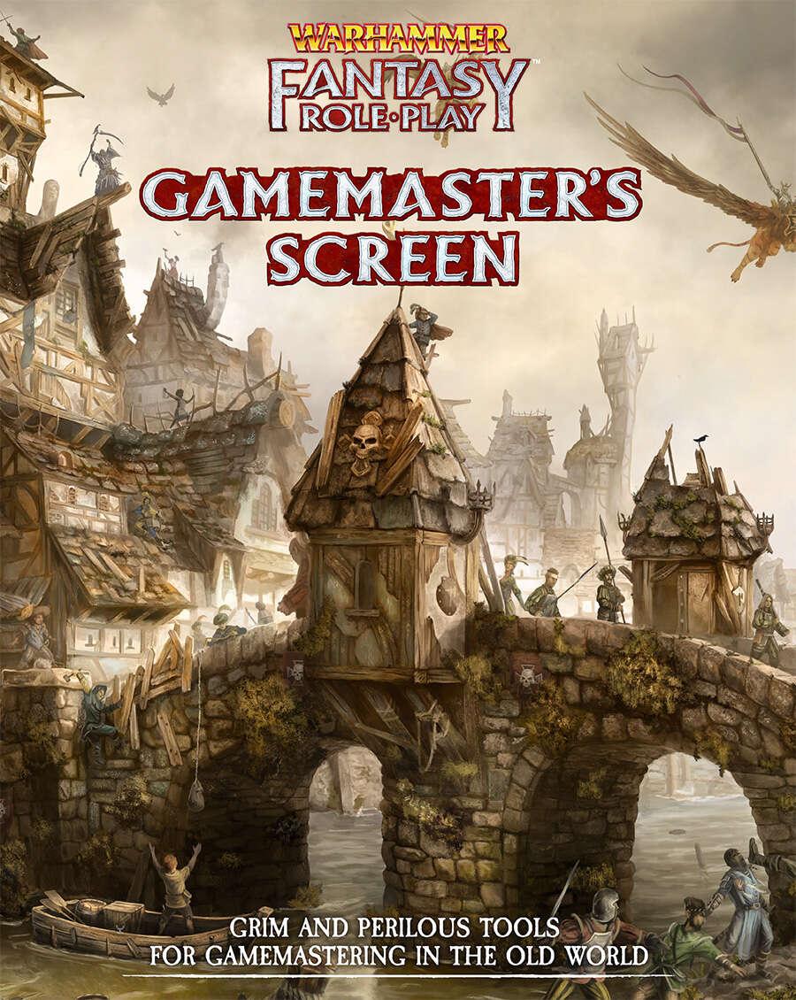 Wfrp Gamemaster S Screen Cubicle 7 Entertainment Ltd Warhammer Fantasy Roleplay Fourth Edition Drivethrurpg Com