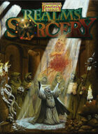Warhammer Fantasy Roleplay Realms of Sorcery - The Magic Supplement