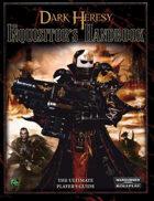 Dark Heresy: Inquisitor's Handbook