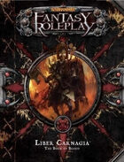 Warhammer Fantasy Roleplay: The Book of Blood