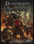Deathwatch: Rites of Battle