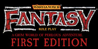 Warhammer Fantasy Roleplay First Edition