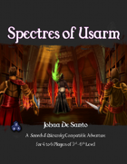 Two Page Adventures - Spectres of Usarm