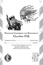 Paranormal Investigators and Exterminators Chocolate P.I.E.