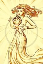 Fantasy Elf Lady [Fireball]