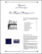 QMR - Ten Magical Thingies, vol. 1