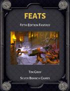 Feats - fifth edition fantasy