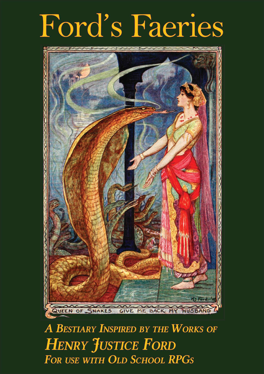 Ford's Faeries: A Bestiary Inspired by Henry Justice Ford