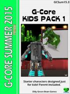 (G-Core) Summer 2015: Kid's Pack