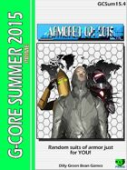 (G-Core) Armored Up: 2015