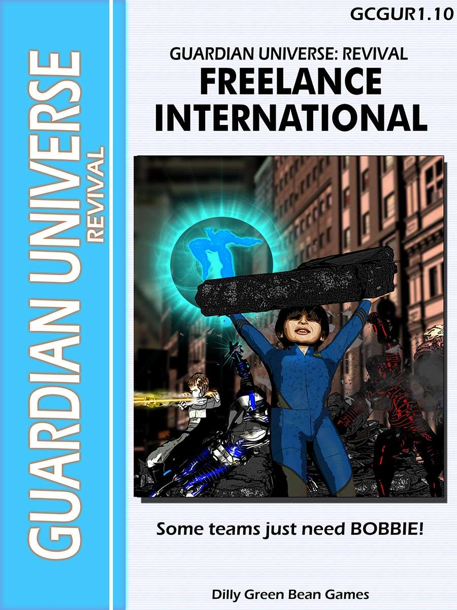 Guardian International Currency: (G-Core) Guardian Universe: Revival: Freelance