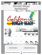 BinderMaps: California Burger Beach - Fast Food Fight and Light Dining