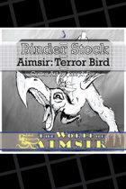 BinderStock - Aimsir- Terror Bird