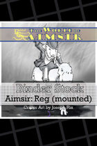 BinderStock - Aimsir- Reginald, the Stoutbottom (Mounted)