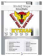 BinderMaps: School Nights - Bright Shire High School in Shades of Grey