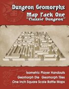 Dungeon Geomorphs-Map Pack One-Classic Dungeon