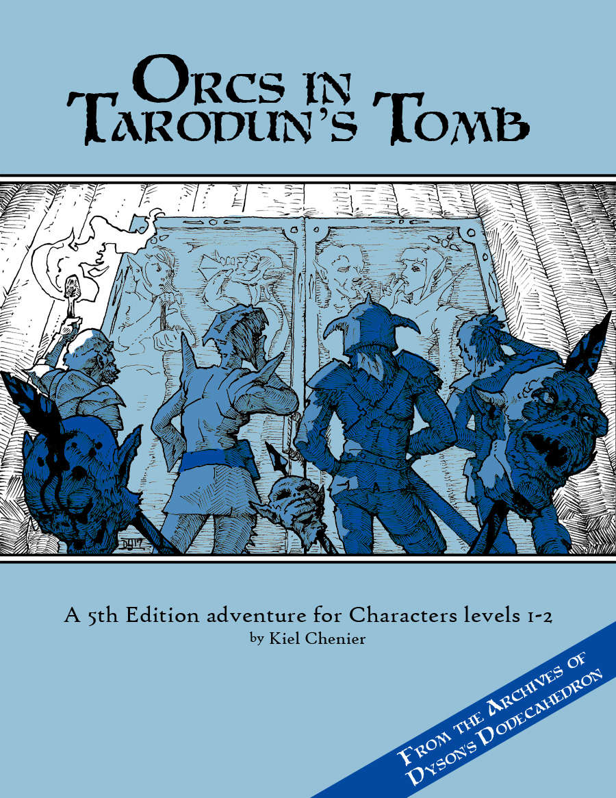 Orcs in Tarodun's Tomb [5e]