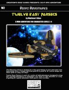 Twelve Easy Parsecs- A Sci-Fi RPG Mini-Adventure