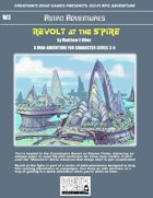 Revolt at the Spire- A Sci-Fi RPG Mini-Adventure