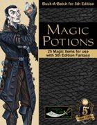 Magic Potions for 5th Edition Fantasy