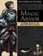 Magic Armor for 5th Edition Fantasy