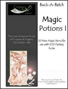Buck-A-Batch: Magic Potions I