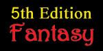 5th Edition Fantasy