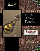 Buck-A-Batch: Magic Potions (4E)
