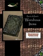 Buck-A-Batch: Wondrous Items (4E)