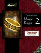 Buck-A-Batch: Magic Rings 2 (4E)