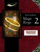 Buck-A-Batch: Magic Rings 2 (4E)