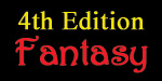 4th Edition Fantasy
