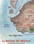 Alfeimur Mappa della Regione nel 2066 dfW