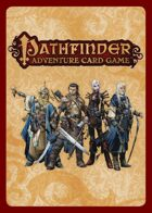 Pathfinder Adventure Card Game Complete Errata Set (RoR, 1st printing)