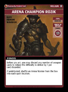 Arena Champion Rozik - Custom Card
