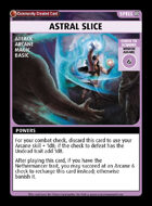 Astral Slice - Custom Card