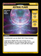 Astral Flare - Custom Card