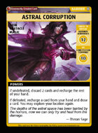 Astral Corruption - Custom Card