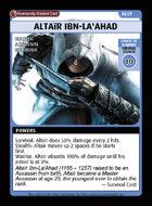 Altaïr Ibn-la'ahad - Custom Card
