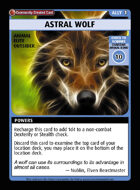 Astral Wolf - Custom Card