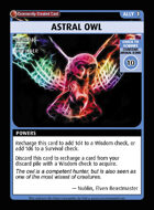 Astral Owl - Custom Card