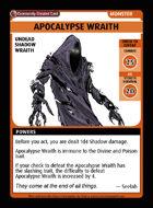 Apocalypse Wraith - Custom Card