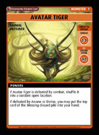 Avatar Tiger - Custom Card