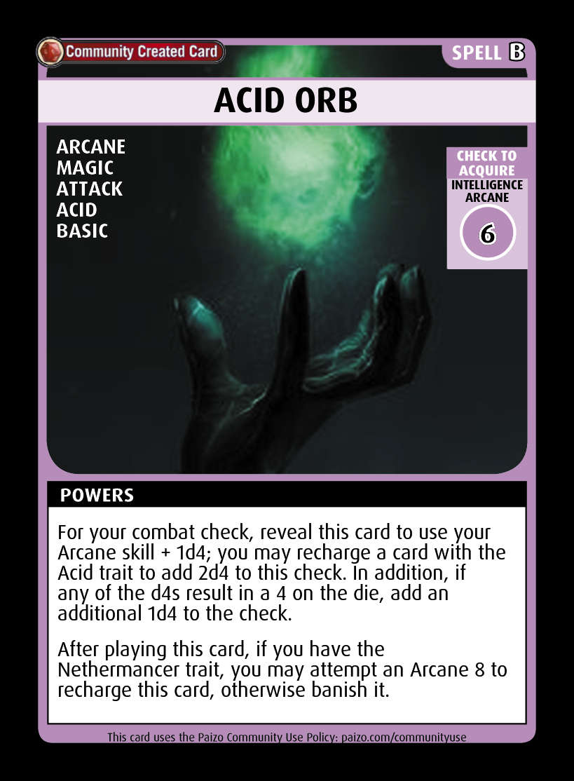 acid poker