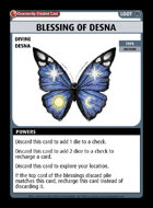 Blessing Of Desna - Custom Card